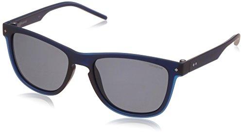 Polaroid pld 2037/s c3, occhiali da sole uomo, bluee, 54