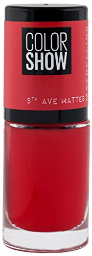 Maybelline New York Colorshow Nagellack 5th Avenue Matte 455 traffic stop, 1er Pack (1 x 7 ml)