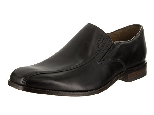 Bostonian Narrate Step Herren Eckig Leder Slipper Black