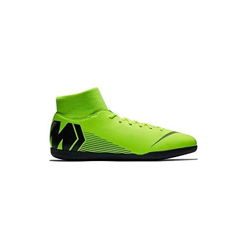 Nike Herren MercurialX Superfly VI Club IC Fußballschuhe, Gelb (Volt/Black 701), 43 EU