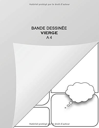 Bande dessinée vierge A4: Livre Pour Créer Votre Comic