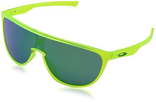 Oakley Herren Trillbe 931807 0 Sonnenbrille, Grün (Matte Uranium/Jadeiridium), 1