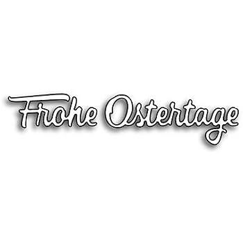Karten-Kunst Stanzschablone Stanze Die f/ür Big Shot und Co Gro/ße Texte Konfirmation