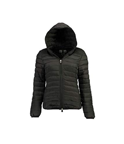 Geographical Norway - Doudoune Femme Dafne Hood Noir-Taille - 4
