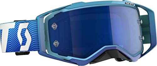 Scott Prospect MX Goggle Cross/MTB Brille blau/weiß/Electric blau Chrom Works -