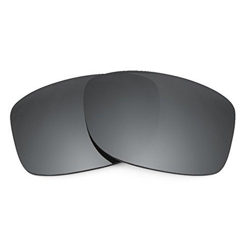 Revant Ersatzlinsen für Oakley Jupiter Squared Polarisierung Elite Schwarz Chrom MirrorShield®