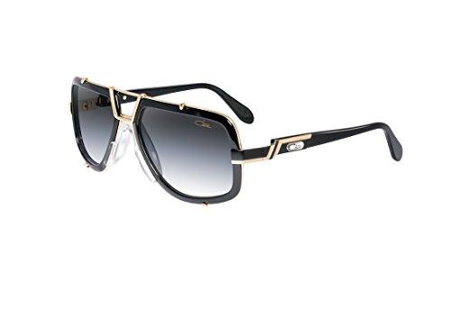 b33e4762fc3e Sunglasses Cazal Vintage 656 3 COL.1 Black Gold 100% Authentic New