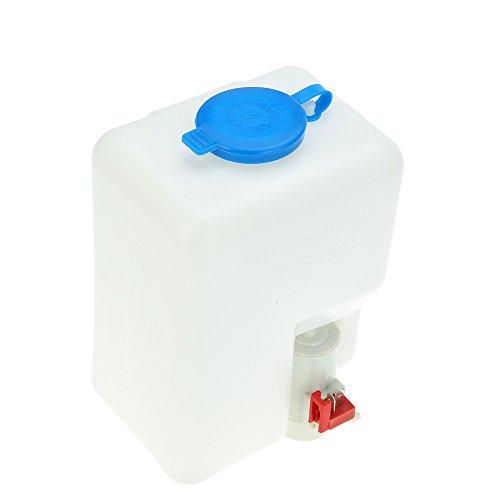 KKmoon Windschutzscheibe Waschwasserpumpe Universal DC12 V Windschutzscheibe Waschwasserpumpe Kit Reinigung Tools ideal Waschmaschine Flasche für Classic Cars Boot Marine
