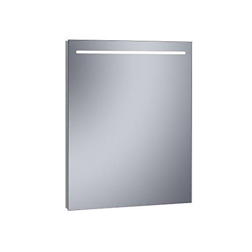 Kristaled Eco 60x80 cm Espejo Baño Estriado Luz Led