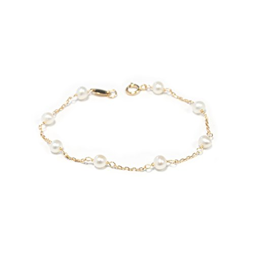 monde-petit-g1225pu-18ct-yellow-gold-childrens-pearl-bracelet