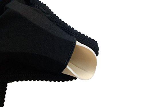Cimary Damen,schlafen bh,Schwangerschaf BH Unterwäsche Umstandsmode Still-BH 2PACK Beige+Black/2Pair Nursing Pads