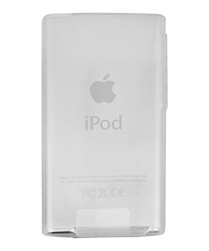 mumbi TPU Silikon Hülle für iPod Nano 7G Schutzhülle (7. Generation) transparent weiss (Case Ipod Nano 7g)