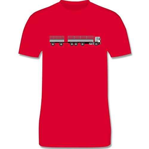 Andere Fahrzeuge - Lastzug - Herren Premium T-Shirt Rot