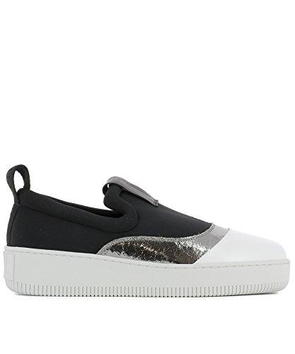 mcq-alexander-mcqueen-slip-on-sneakers-donna-430016r24181054-poliammide-bianco-nero