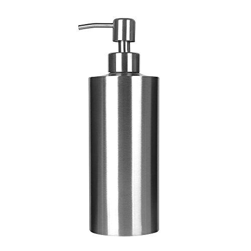 ARKTEK Soap Dispenser, Premium Stainless Steel Liquid and Soap Dispenser for Kitchen and Bathroom (550 ml)
