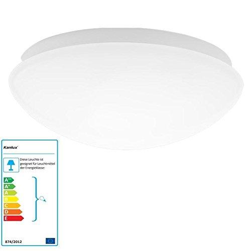 Deckenleuchte Deckenlampe Wandleuchte Badezimmer Kellerleuchte Außenleuchte IP44 (Deckenleuchte ohne Leuchtmittel) (Deckenleuchte Globe)