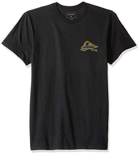 Quiksilver Herren Tattered MT0 Tee Hemd, schwarz, Groß Quiksilver Black Ring