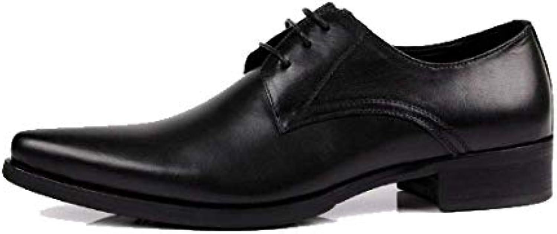 Scarpe Stringate Scarpe Scarpe Scarpe da Lavoro in Pelle da Uomo A Punta Stile Europeo Daily Work Comfort Comfort | Offerta Speciale  fae41b