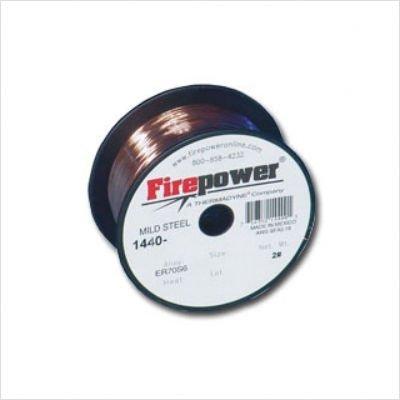 Mild-steel Welding Wire (Firepower 1440-0220 Mild Steel Solid MIG Welding Wire 0.035-Inch Diameter, 2-Pound by FirePower)