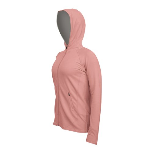 I/O Bio Damen Signature Pocket Hoody blush