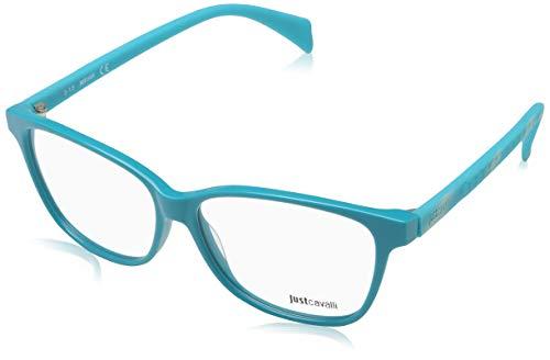 Just Cavalli Damen Brille JC0686 084 54 Brillengestelle, Türkis,