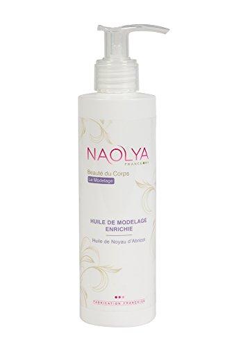 Huile de massage professionnelle sans parfum à l'Huile de noyau d'abricot - Huile massage neutre pour modelage corps visage