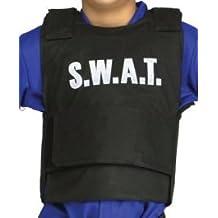 Niños Fiesta de Disfraces Disfraz SWAT equipo chaleco