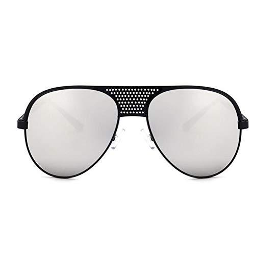 HYUHYU Die Neuesten Schwarzen Sonnenbrillen Der Italienischen Markenschwarzes Spiegeln Retro- Sonnenbrillendesignfrauen Rosafarbenes Rosasilber Der Weinlese Retro