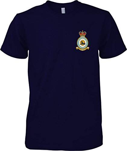 Air Intelligence Wings - RAF Royal Air Force - T-Shirt - Navy Blue - M (Air Wings Force T-shirt)