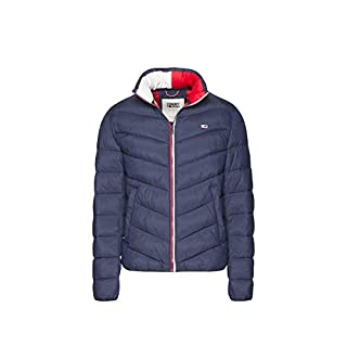 Tommy Hilfiger TJM Essential Puffer Jacket Blouson, Bleu (Black Iris 002), X-Large (Taille Fabricant: W38/L34) Homme