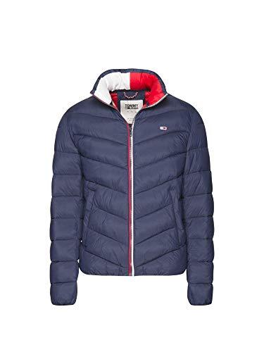 736aa4644 Tommy Hilfiger TJM Essential Puffer Jacket Chaqueta, Azul (Black Iris 002),  Large (Talla del Fabricante: W33/L34) para Hombre