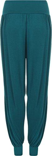 WearAll - Pantalon 'harem' bouffant - Pantalons - Femmes - Tailles 36 à 42 Sarcelle