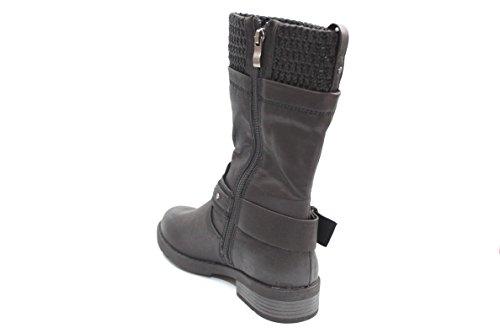Marco Barbosa Tozzi pour femme Noir Antic d'hiver Biker bottes taille 3-9 Noir