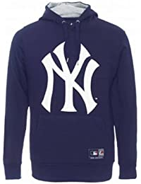 Official New York Yankees Crest Hoodie by Majestic 0b02ca36b59d