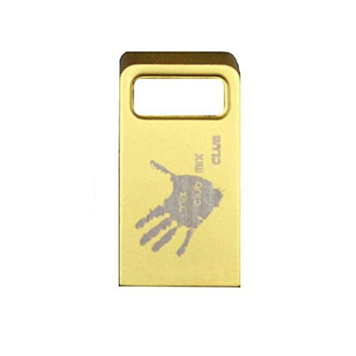 Hualq a009 musica usb mini metallo usb flash drive regalo 16g32g impermeabile ultra-sottile