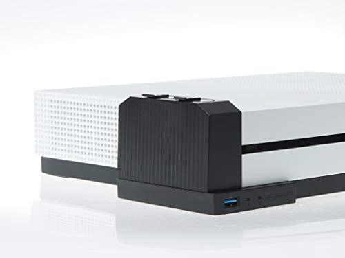 AmazonBasics - Ladegerät für Controller-Akkus (für die Xbox One S), Schwarz - Netzkabel Für One Die Xbox