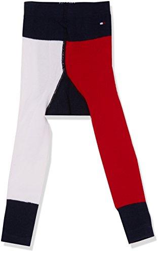 Tommy Hilfiger Unisex Socken TH Baby I Love Legging 1P, Mehrfarbig (Midnight Blue 563), 74 (Herstellergröße: 74-80)
