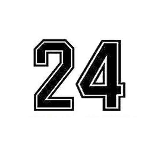 Wandaufkleber Kinderzimmer Basketball-Spieler-Kleidungs-Zahlen Mamba Spirit Art Home Decor Wohnzimmer-Abziehbilder Wandgemälde für Wohnzimmer