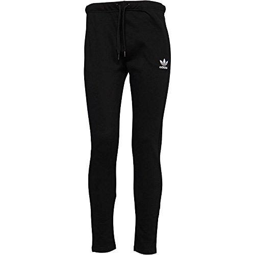 adidas Originals Womens Slim Fit Open Hem Track Pants Black BI1295