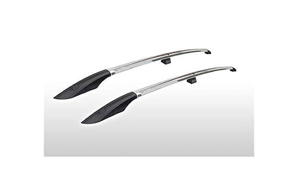 Barres de Toit pour Ford Transit Tourneo Connect L2 /à partir de 2013 Aluminium Poli Effet chrom/é Brillant