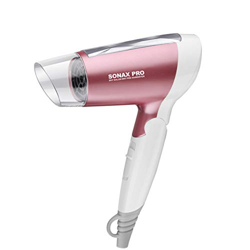Yzerel HouseholdFolding type Salon tools Hair dryer Hot wind Thermostat Hair dryers Hotels -pink