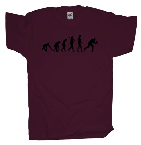 Ma2ca - Evolution - Paintball T-Shirt Burgundy