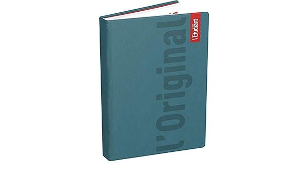 1 Agenda Journalier LEtudiant Ao/ût 2020 /à Juillet 2021-15 x 21 cm Hamelin Noir Brillant