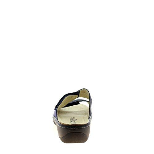 Longo comfort 3069574-3, Mules pour Femme Bleu