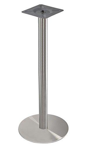 """Tischgestell Edelstahl\"""" Messe\"""" 110cm Höhe Messetisch Bistrotisch Stehtisch"""