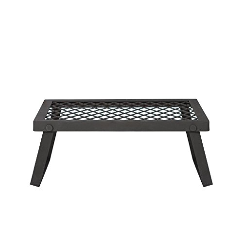 AmazonBasics - Robuster, klappbarer Camping-Grill, Mittelgroß