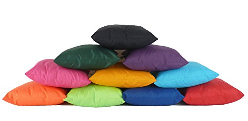Image of Waterproof Outdoor Garden Furniture Seat Cushion Filled with Pad By Bean Lazy - Orange