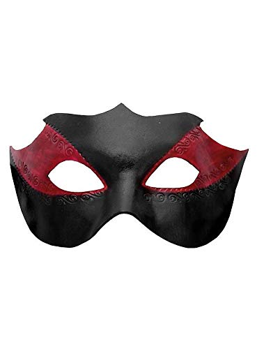 Colombina Kostüm - Venezianische Maske - Colombina Novella Venezianische Ledermaske