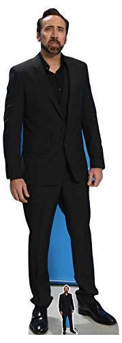 Star Cutouts CS757 Nicholas Käfig, offizielles Produkt, lebensgroß, mehrfarbig