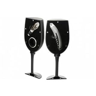 GS54 3 Piece Wine Set in Shape of Glass